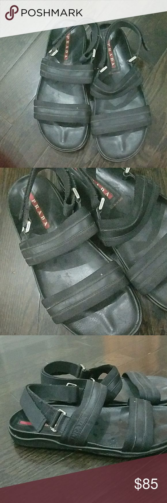 Prada men shoes size 9 US Prada men shoes size 9 US used Prada Shoes