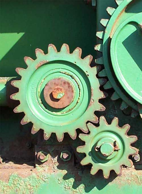 Mechanical power transmission gears