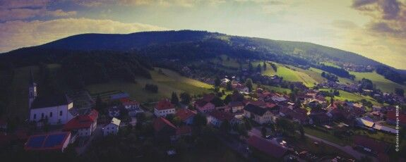 Picture from the Quadrocopter, Grainet Germany
