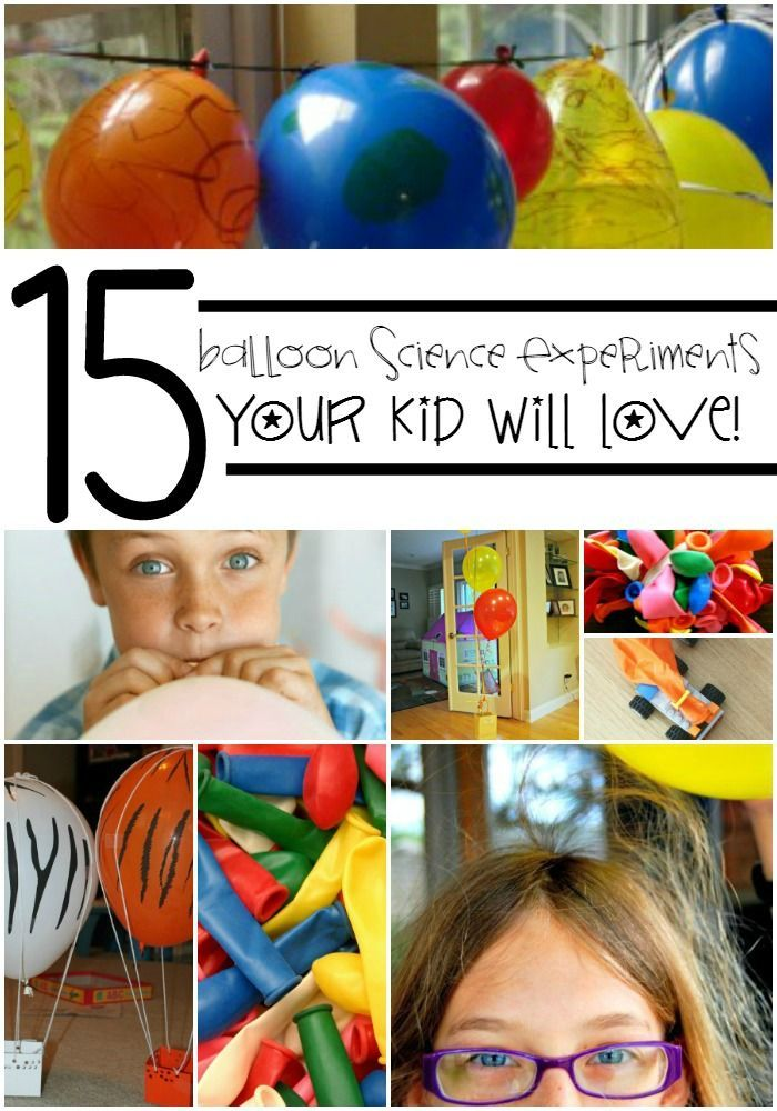 15 Awesome Balloon Science Experiments