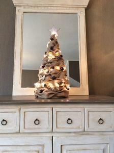 Jute kerstboom #kerstboom#jute#kerst#christmas#burlap#tree