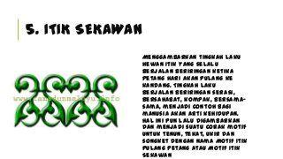 Motif & Ukiran Melayu Riau
