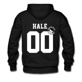 """""""HALE 00"""" Teen Wolf MTV - Derek Hale Lacrosse Hoodie $40"""