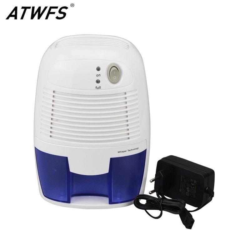 高品質ポータブルミニ除湿機家庭用電気静かな空気乾燥機500ミリリットル水タンク空気除湿機静かな空気乾燥機