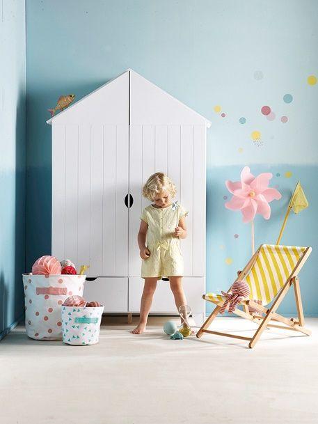 Unique Kinder Kleiderschrank Holiday von Vertbaudet in grau Nur uac Versand Kinderzimmer jetzt bei Vertbaudet bestellen