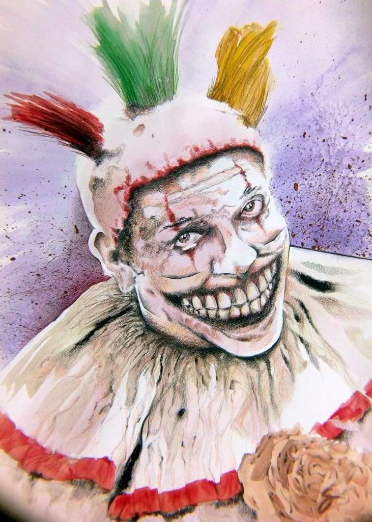 Why scary clowns are threatening people all around the ... |Creepy Clown Painting