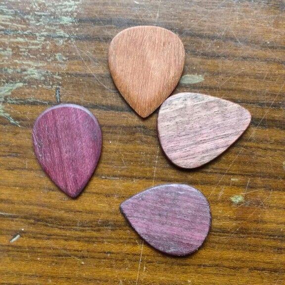Série Wood - Al-C Guitar Picks