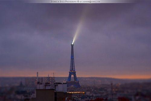 Eiffel Tower, stunning at night
