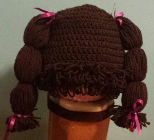 Cabbage Patch like Doll Wig.  $20
