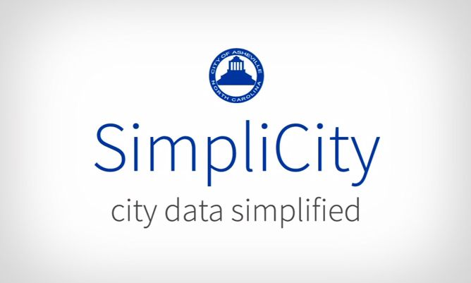SimpliCity: Simplified website database of Asheville  crime, development, tax values, even trash and recycling pickup schedules. Good resource for all things Asheville