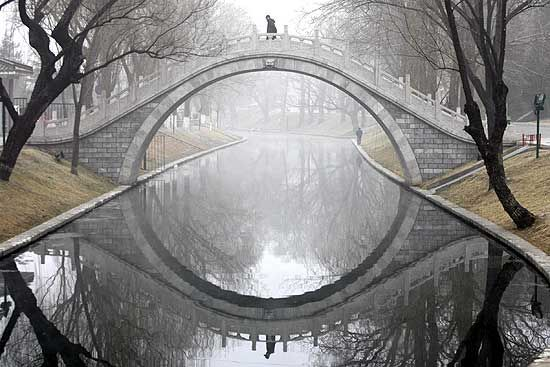 A Beijing Bridge - wow, pretty.