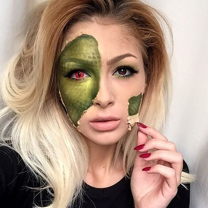 Idées de #maquilllage d'#Halloween