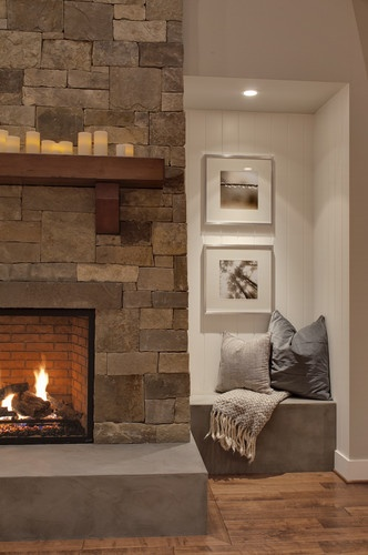 1000 images about fireplace on pinterest exposed - Things you find on walls ...