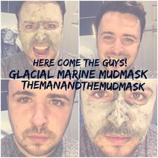 Men can wear our mudmask too