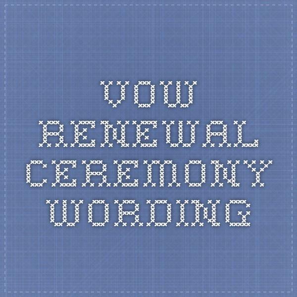 Best 25 Vow renewal ceremony ideas on Pinterest  Vowel