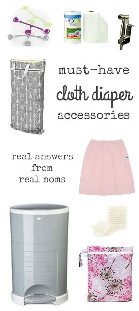 Cloth diaper survey: What are your favorite cloth diapering accessories? Real answers from real moms.