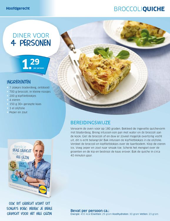 Broccoli quiche - Lidl Nederland