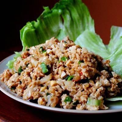 P.F. Chang-style Lettuce Wraps