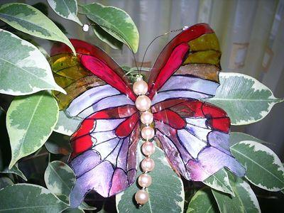 Бабочки из пластиковых бутылок как сделать самому
