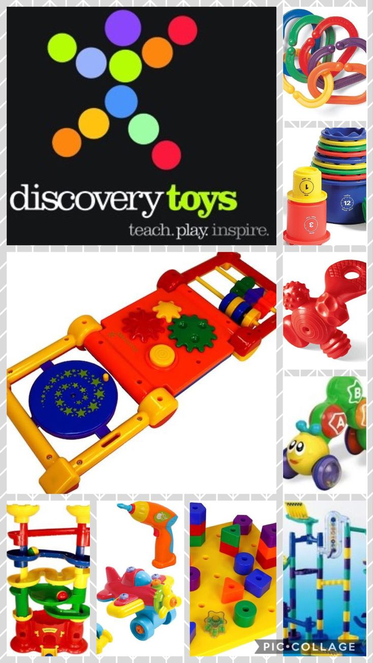 Discovery Toys has toys, books and games for ages birth to 99!