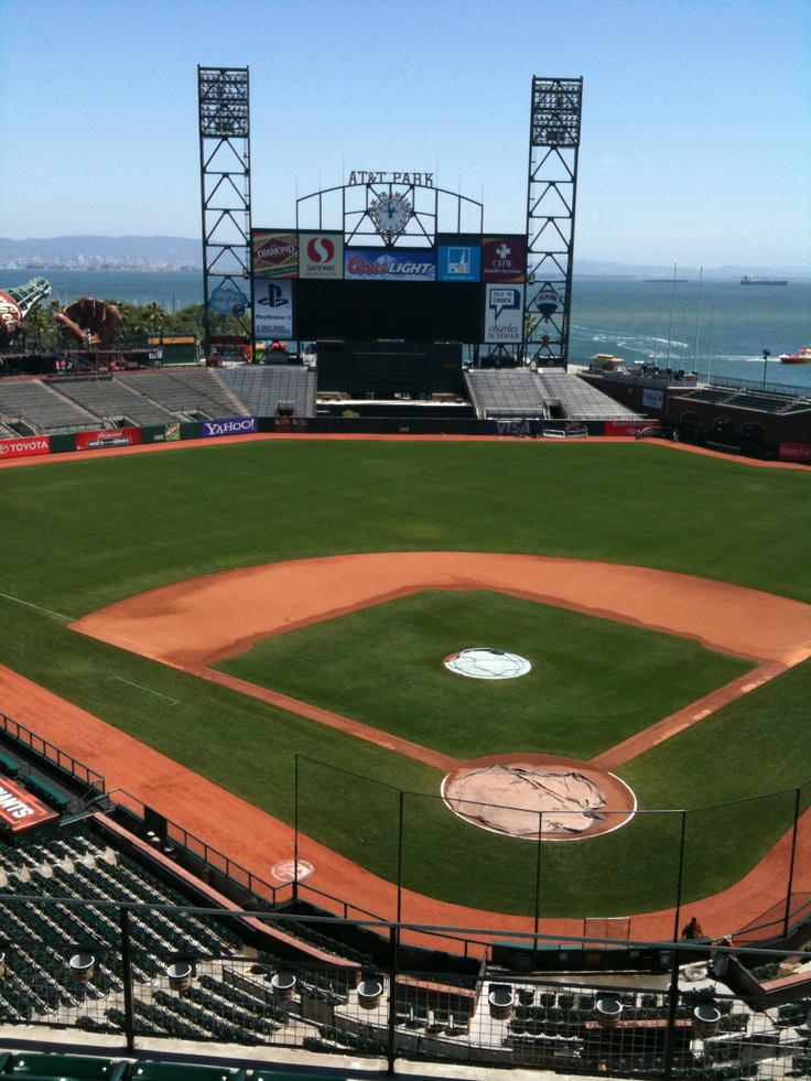 AT & T park. The most beautiful baseball park :)