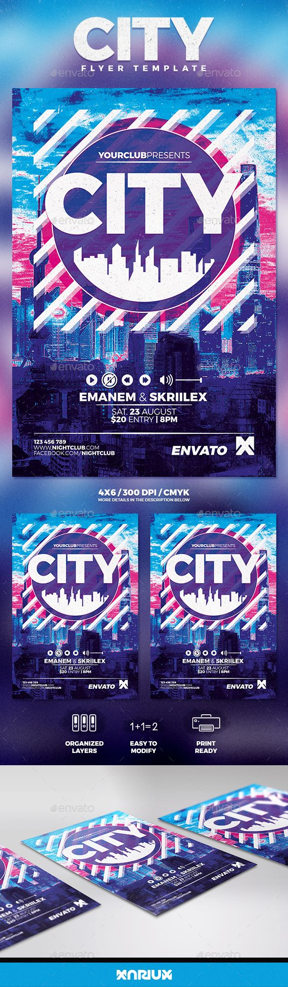 City Party Flyer