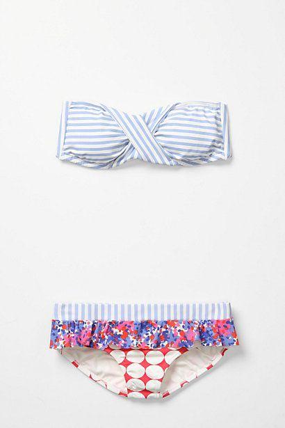 Anthro Print Share Bikini
