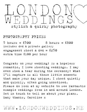 7 Best LONDON WEDDINGS Photography Brochure Images On Pinterest