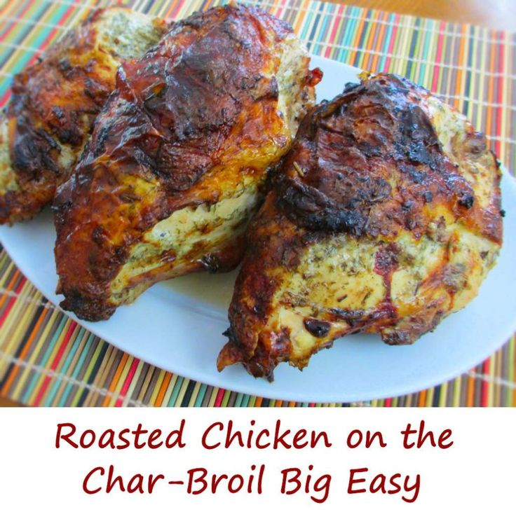 I'm a huge fan of my Char-Broil The Big Easy TRU-Infrared Oil-less Turkey Fryer. I was pessimistic when I bought it (I'm more a Weber-brand grill guy), but I have really loved using the Big Easy from Char-Broil. It does a fantastic job on whole turkeys and chickens, wings, and yes, split chicken breasts like … … Continue reading →