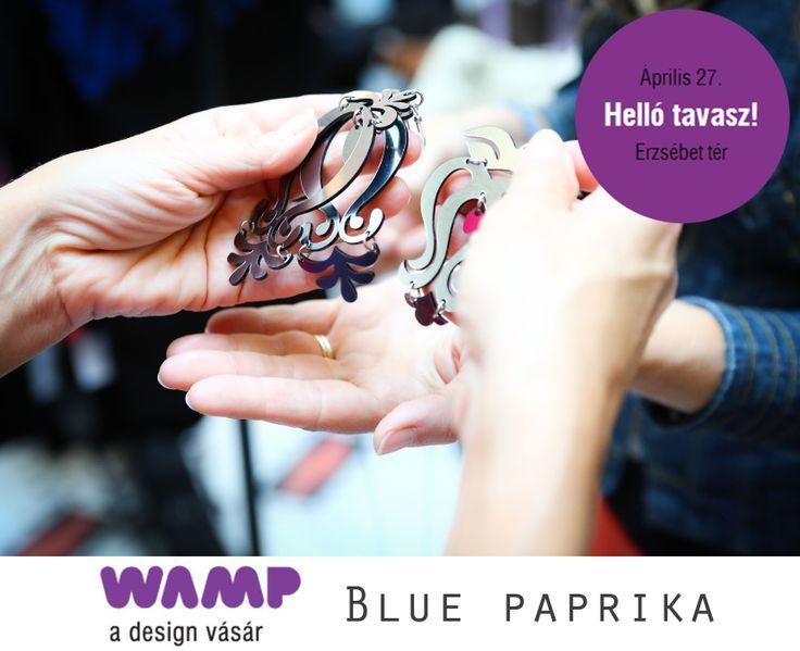 Eladó a Blue paprika fülbevaló! :)