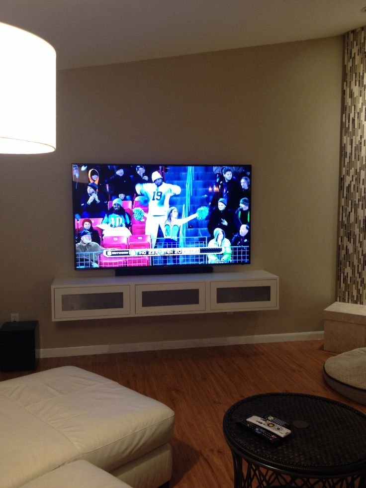 Tv Wall Floating Shelves Living Room
