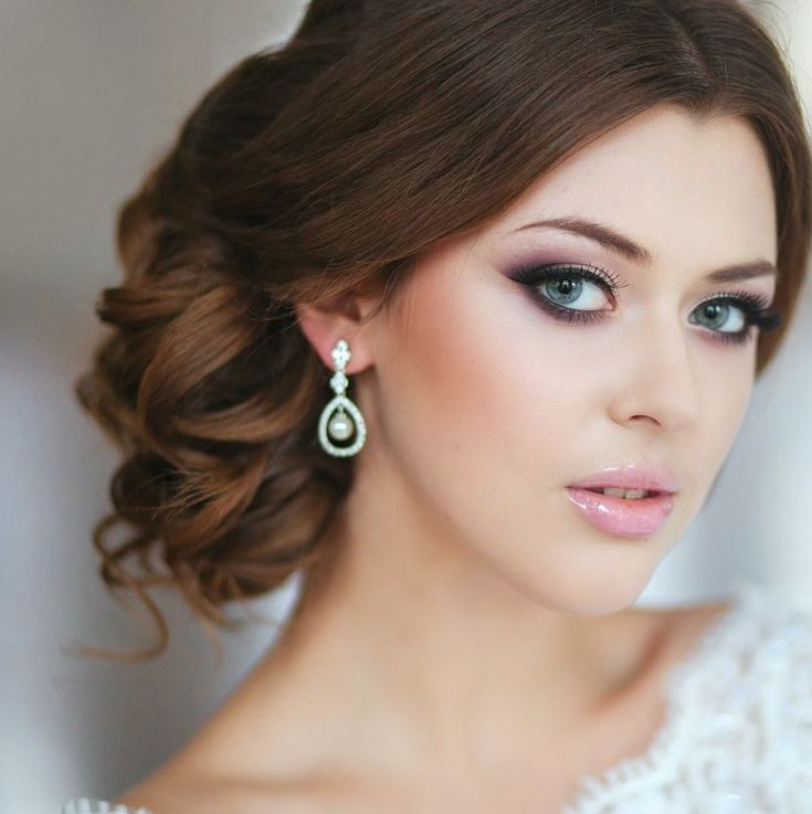 2017 Wedding Hairstyles Pinterest Wedding Updo And Bridal Makeup