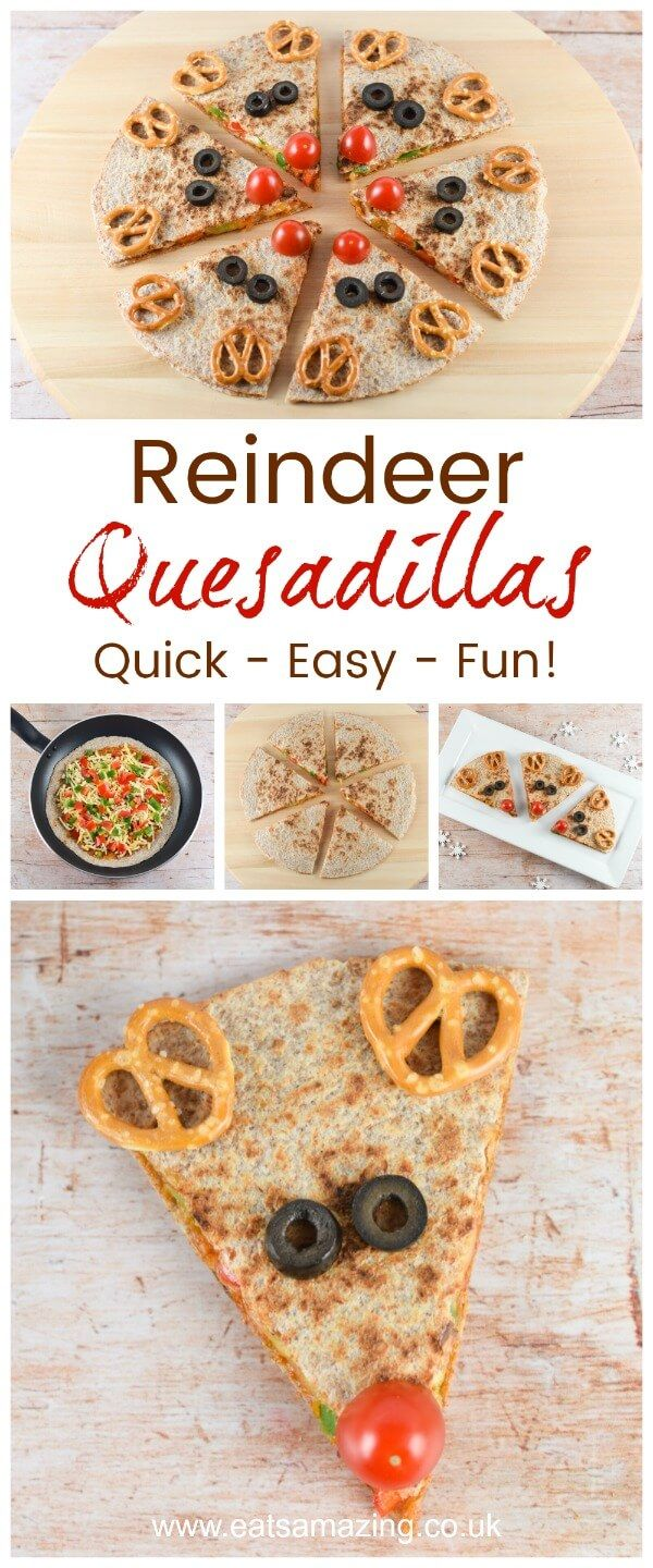 807 best eats amazing uk fun kids food ideas images on pinterest cute and easy reindeer quesadillas healthy fun christmas food for kids from eats amazing uk forumfinder Image collections