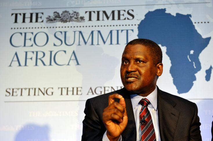 Aliko Dangote : »Je suis un homme heureux d'investir uniquement  en Afrique    «