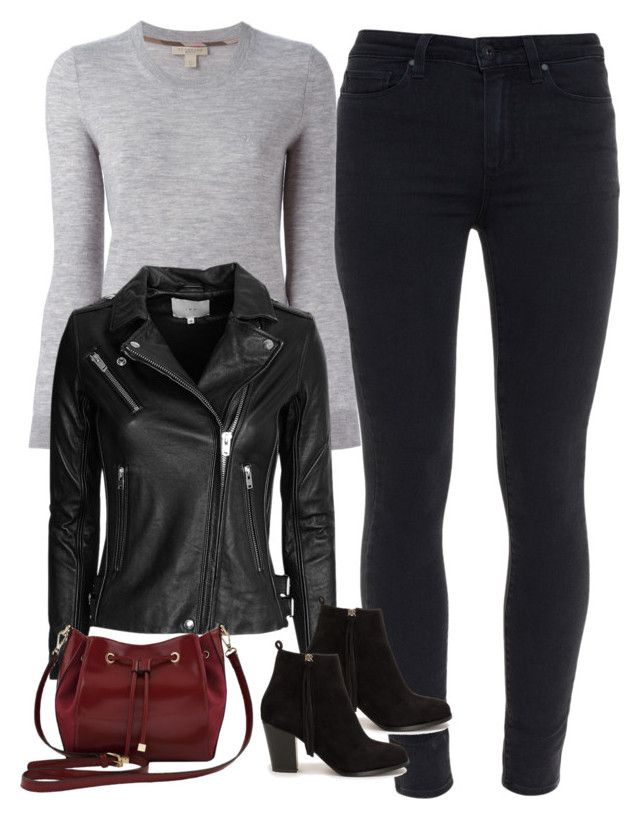 """Dinah ""Laurel"" Lance Inspired Outfit"" by staystronng ❤ liked on Polyvore featuring Paige Denim, Burberry, IRO, M&Co, Nly Shoes, Arrow, autumn and LaurelLance"