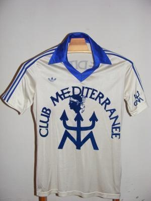 Mid 70's SC Bastia away kit