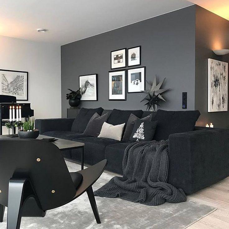 Inspire Me Home Decor Subscription Home Inspiration Inspiration Decor Homeinspiration Living Room Decor Apartment Living Room Grey Black Living Room