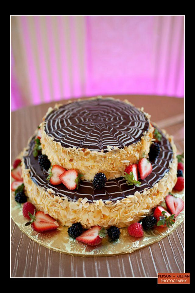 Boston Wedding Photography Event Omni Parker House Creme Pie Cake