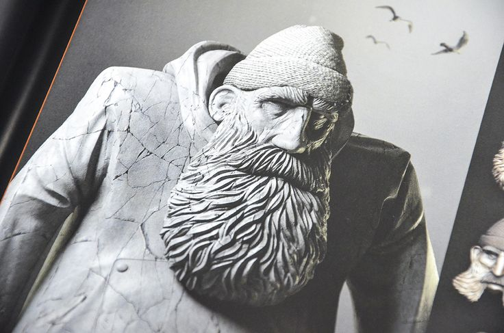 Check out Pablo Munoz Gomez's Fisherman sculpt in 3dtotal publishing's Sculpting from the Imagination: ZBrush