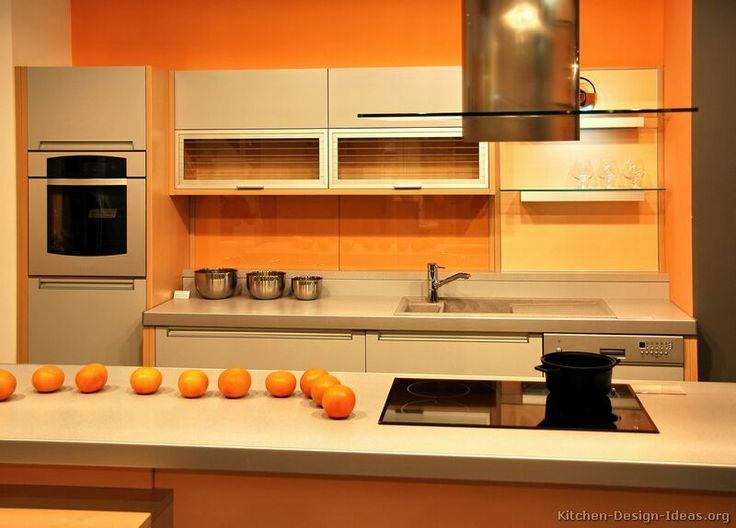 72 best Orange Kitchens images on Pinterest Kitchen ideas
