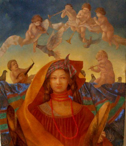 Artodyssey: Olga Oreshnikova - Tamar Or - Ольга Орешникова