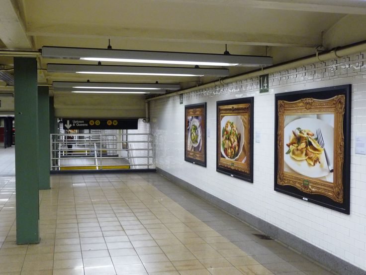 Restaurant Hoarding Design : Subway advertising nyc google search billboards