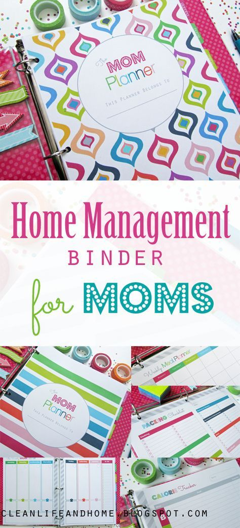 The Mom Planner: Home Management Binder for Moms