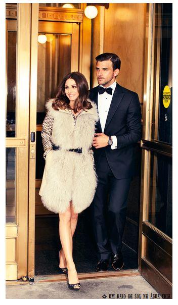 Olivia Palermo & Johannes Huebl. Classy couple