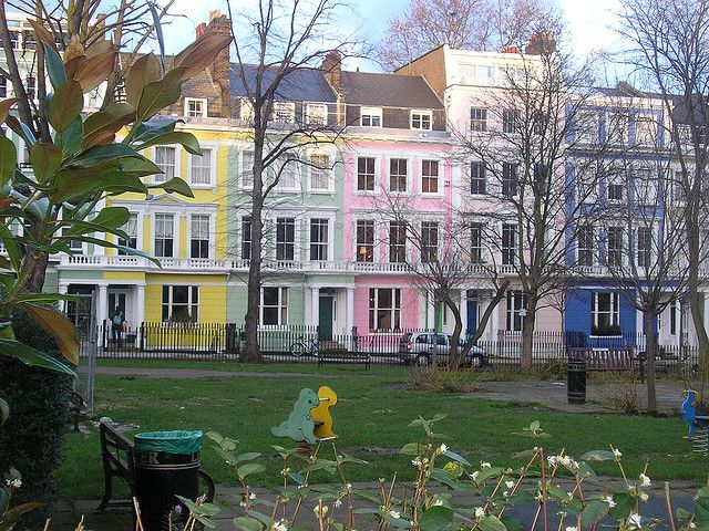 Candy Coloured Houses of Primrose Hill