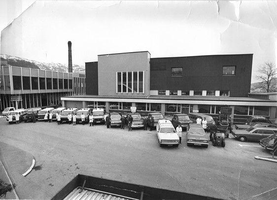 Hordaland fylke Bergen Haukeland Sykehus på 1970-tallet