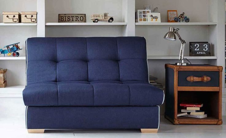 Shoreditch sofa bed by feather and black