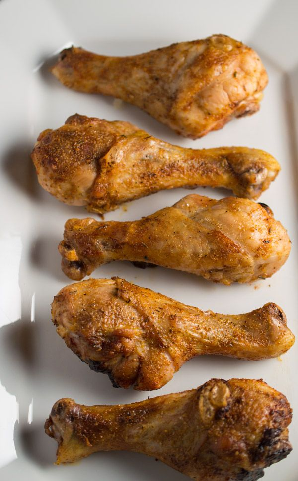 These oven baked Paprika Chicken Legs have crispy skin and are grain ...