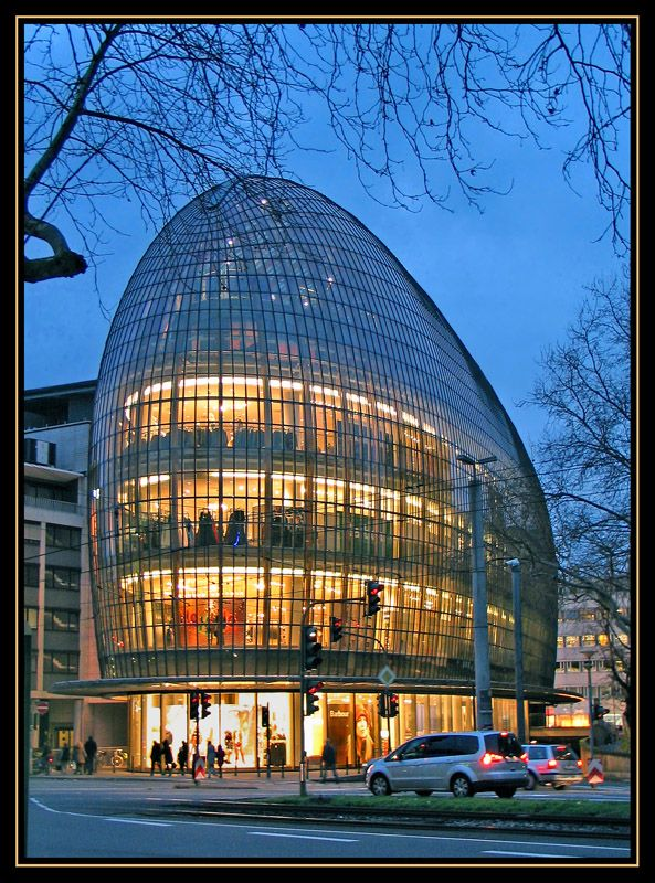 The glass whale - Cologne, Nordrhein-Westfalen
