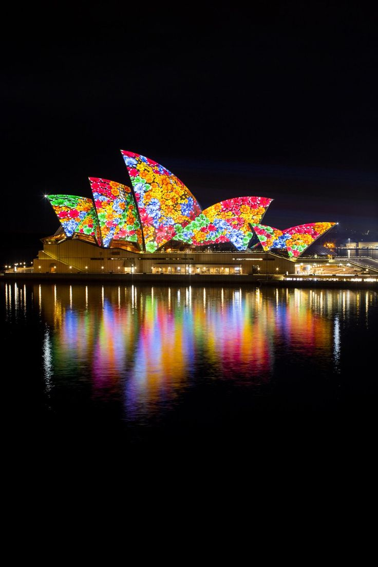 "Vivid Sydney on Twitter: ""The Sydney Opera House sails will illuminate with 'Songlines', featuring the work of 6 Indigenous artists. 6pm-11pm."